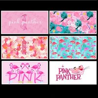 Wholesale Digital Printing Beach Towels CM Pink Panther Flamingo Women Bath Towel For Fitness Cycling Yoga Washrag Popular ht B