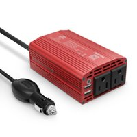 Wholesale BESTEK W Power Inverter DC V to V AC Car Inverter with A Dual USB Car Adapter