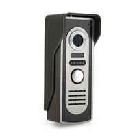 video türsprechanlage großhandel-Video Türsprechanlage Intercom System Video Türklingel Außenkamera mit IR Nachtsicht für Tür Access Control System-M2