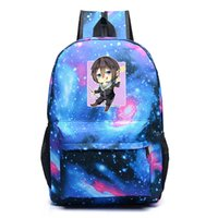 7a22196f4f85 japanese anime backpacks UK - Japanese Anime Noragami schoolbags starry sky  students backpack large space laptop