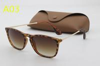 Wholesale ford tops - luxury top qualtiy New Fashion Tom Sunglasses For Man Woman Erika Eyewear ford Designer Brand Sun Glasses with original box. too.