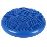 placa de balanceamento de yoga venda por atacado-Inflação Twist Balance Pad Placa de Disco para Massagem Almofada Exercício de Fitness Inflável Massagem Nos Pés Almofada de Equilíbrio Exercício Placa de Equipamento