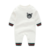 Wholesale month baby winter clothes resale online - 0 months baby boy clothes spring jacket for boys clothing thick outdoor baby rompers fashion jumpsuit