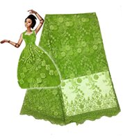 5yards  Lot Last Design 2018 High Quality Nigerian French Lace African Lace Fabric For Party Dress Fc1601 -11t ,Free Shipping