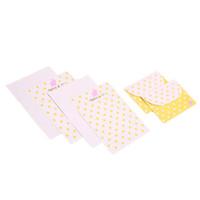 Wholesale stationery manufacturers for sale - 2018 set Korean Stationery Lace Dot Paper Envelope Set Stationery Manufacturers Color Random