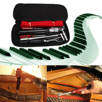 Wholesale piano tuning tools resale online - Professional in Piano Tuning Tools Tuning Maintenance Kit with Case Wrench Screwdriver Sophisticated Craft Hand Tool Sets
