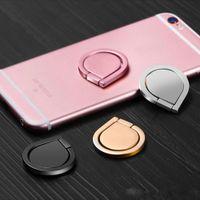 держатели для iphone phone оптовых-Популярный телефон палец кольцо держатель Универсальный мобильный телефон кольцо высокое качество воды падение магнитный шлифовальный прибор для iPhone Samsung