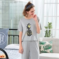 Wholesale Lingerie For Round Women - SusanDick Women Home Suit Comfortable Lovely Cute Pijama Women For Summer Short Sleeve Brand Nightwear Lingerie Lady Pajamas Set