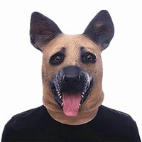 Wholesale x men adult costumes - Latex Party Mask For Halloween Dance Party Costume Wolfhound Masks Creative Fancy Dress Festival Gift 30mr X