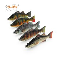 Wholesale muskie lures resale online - Fishing Lures cm g segement Isca Artificial Pike Lure Muskie Fishing Lures Swimbait Crankbait Hard Bait Fishing Accessory