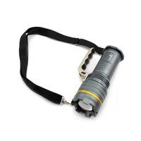 lámparas led de largo alcance al por mayor-Zoom ajustable T6 Led Luz de búsqueda portátil Carga de largo alcance Lámpara de luz al aire libre Lámpara que acampa Led reflector