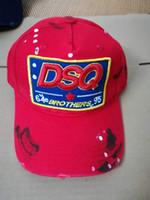 Wholesale caps printed shades resale online - classic European and American men s baseball cap outdoor shading cap cotton hat cap three colors