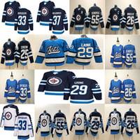 Wholesale jersey jets resale online - Winnipeg Jets Patrik Laine Blake Wheeler DustinByfuglien Mark Scheifele Stastny Hellebuyck Hockey Jersey