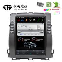 "toyota prado radio din NZ - Android Tesla Style 10.4"" GPS Navigation for Toyota Prado car dvd player 2002 - 2009 Bluetooth GPS Radio WIFI 4G AUX FM AM Free Map"