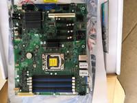 x1 destek toptan satış-S1400FP4 Sunucu Anakart LGA1356 DDR3 SSI ATX Desteği E5-2400 Cpu