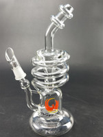 Wholesale Hookah Supplies - Wholesale Hookahs Accessories Height 9' Recycler Percolator Herbal factory direct supply