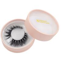 Wholesale mink lashes sale resale online - Hot Sale False Eyelashes D Mink Lashes Natural Long Fake Eye Lashes Private Label Eyelash For Makeup Extension Lash