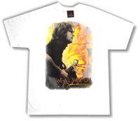 camisetas de los beatles al por mayor-John Lennon Todos brillamos en la camiseta blanca Nuevo Merch Beatles oficial