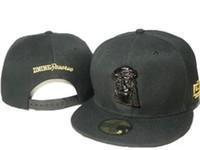 ingrosso d9 riserva cappelli di snapback-Nuovo stile nero dnine D9 riserva snapback tappi moda strada tappi cappello regolabile snapbacks di marca hip hop primavera estate cappelli da baseball