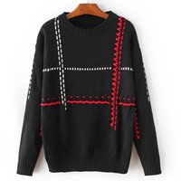 Wholesale Types Women Sweaters - 2017 Autumn and winter European and American autumn women's wear new type of with pullover sweater