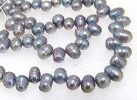 d66dea317ef9 perlas cultivadas de agua dulce gris al por mayor-Joyas de perlas sueltas