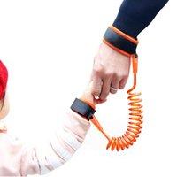 ceintures de marche pour bébé achat en gros de-Anti Perdu Lien De Poignet En Bas Âge Laisse De Sécurité Harnais pour Sangle De Bébé Corde En Plein Air Marcher Main Ceinture Bande Anti-Perdu Bracelet Enfants