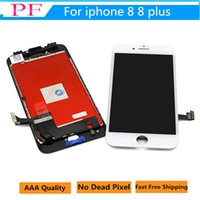 Wholesale touch screen panel parts - Grade A +++ LCD Touch Screen Digitizer For iPhone 8 8 plus 7 7plus LCD Touch Display Frame Touch Panels LCD Replacement parts + Tools