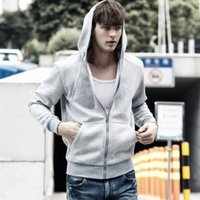 Wholesale Hot Cardigans - 2017 Hot sale Mens polo Hoodies and Sweatshirts autumn winter casual with a hood sport jacket streetwear mens hoodies tracksuit