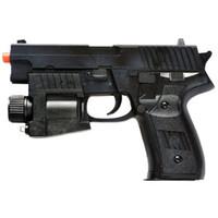 лазерный светодиодный пистолет оптовых-P226 ПРУЖИННЫЙ ВОЗДУШНЫЙ САМОЛЕТ РУЧНОЙ ПИСТОЛЕТ СВЕТОДИОДНЫЙ СВЕТ ЛАЗЕРНОГО ВИДА ВОЗДУХА с 6 мм ВВ BBs