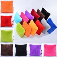 Wholesale couch pillow case covers - long Plush fashion back cushion Home Decorative Throw pillows Couch Chair pillows Case Cushion Cover T5I039