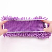 einzelschuhboden großhandel-Hersteller Chenille Mop Überschuh faul Schuhabdeckung wischen Boden Slipper Mopp Kopfbedeckung Einzelpreis
