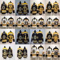e9cc92969df 33 Zdeno Chara Jersey Boston Bruins 37 PatriceBergeron 40 Tuukka Rask 46  David Krejci 47 Torey Krug Hockey Maglie economici