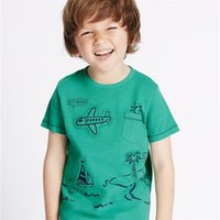 Wholesale retail girl shirt resale online - Retail Brand New Baby Kids Girls Tshirt Child Clothing Childrens Tops Summer Clothes Short Sleeve Tee Blouse Shirts Cartoon