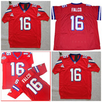 Wholesale quality 16 movies - Shane Falco Jersey #16 The Replacements Sentinels Movie Football Jersey Red Double Stitched Top Quality