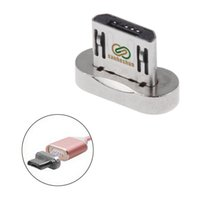металлический магнитный корпус оптовых-Sanheshun Magnetic Replacement Case Metal Plug for Micro USB 2.0 Magnetic Adapter Charger Micro USB Connetor Tool