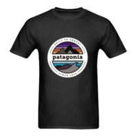 ingrosso vendita top magliette da donna-New -patagonia-shirt-logo - T-Shirt Size-S To 5XL summer Hot Sale New Tee Print T-Shirt da uomo Top 100% cotone casual uomo