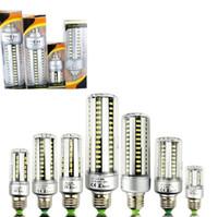 Wholesale led garden spotlight 5w - 2018 Super Bright E26 Led Corn Bulbs Lights 5W 7W 9W 12W 15W 20W 25W Led Bulbs Spot Lights Warm Cold White AC 85-265V