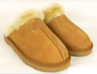 Wholesale Red Moccasin Boots - 2018 new Classic slippers boots winter warm slipper for women Australia (winter slippers) us size 5-13.g