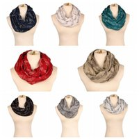 Wholesale shawl accessories for sale - 8 Colors cm Lady Musical Note Neck Soft Scarf Shawl Muffler Sunscreen Musical Note Printed Ring Fashion Accessories CCA10208