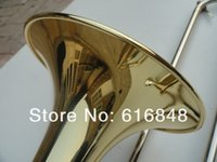 Wholesale for trombone for sale - Group buy Alto Trombone Professional Musical Instrument Eb Tune Trombone For Students High Quality Brass Trombone With Case