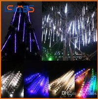 Wholesale shower stars for sale - 20CM CM CM Meteor Shower Rain Tubes Mini Meteor Lights LED Strings Light LED Light Christmas Light Wedding Garden Decoration