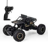 Wholesale race car fuel - Children Remote Control Car Four Drive Alloy Strong Off Road Vehicle Toy Outdoor Complex Terrain Racing Toys 54ll WW