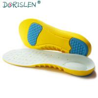 plantillas de espuma de memoria para mujeres. al por mayor-Venta al por mayor Soft Memory Foam Sport Insoles Absorción de golpes Cuidado de los pies Almohadillas para zapatos Hombres Mujeres