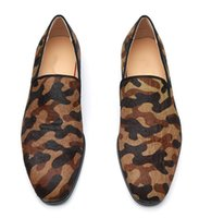 ingrosso abiti da sposa in zebra-2019 nuovi uomini caldi di modo Scarpe casual slip on Dress Uomo Scarpe Sapatos Mujer zebra stampa appartamenti di pelle mocassino leopardo scarpe da sposa maschio