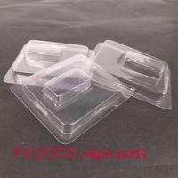 ingrosso kit di avviamento per sigarette vapore-Clamshell in plastica trasparente Fit COCO Pod Vape Pen Sigarette elettroniche Accessori Per UUL starter kit vapor Pods confezione di vendita Spedizione gratuita
