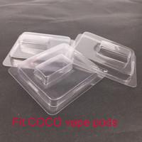 buharlı sigara başlangıç kitleri toptan satış-Temizle plastik kapaklı Fit COCO Pod Vape Kalem Elektronik Sigaralar UUL başlangıç kiti buhar Pods Için perakende ambalaj Ücretsiz nakliye