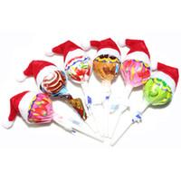6 PCS Sombreros de Navidad Sombreros de Navidad Little Lollipop Regalos  creativos Boda Decoraciones Esenciales Sombrero   YS 66610bd7cef