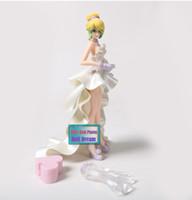 vestidos de casamento japoneses venda por atacado-Anime original japonês figura 15 cm Lupin III Rupan Sansei Rebecca vestido de noiva ver figura de ação modelo colecionável brinquedos para bo