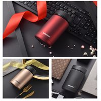 Wholesale Business thermos Vacuum Cup Insulated Double Wall Stainless Steel Coffee Mugs Straight Cup Colors can pick
