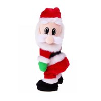 Electric Santa Claus Twisted Wiggle Hip Dance Singing Toy Navidad decoraciones NAVIDAD regalo divertido para los niños